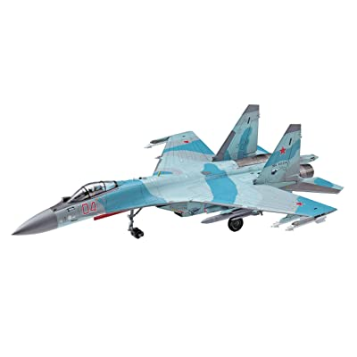 Hasegawa 1:72 Scale SU-35S Flanker Model Kit: Toys & Games