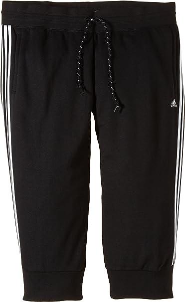 adidas Damen Sporthose Essentials 3-Stripes 3/4