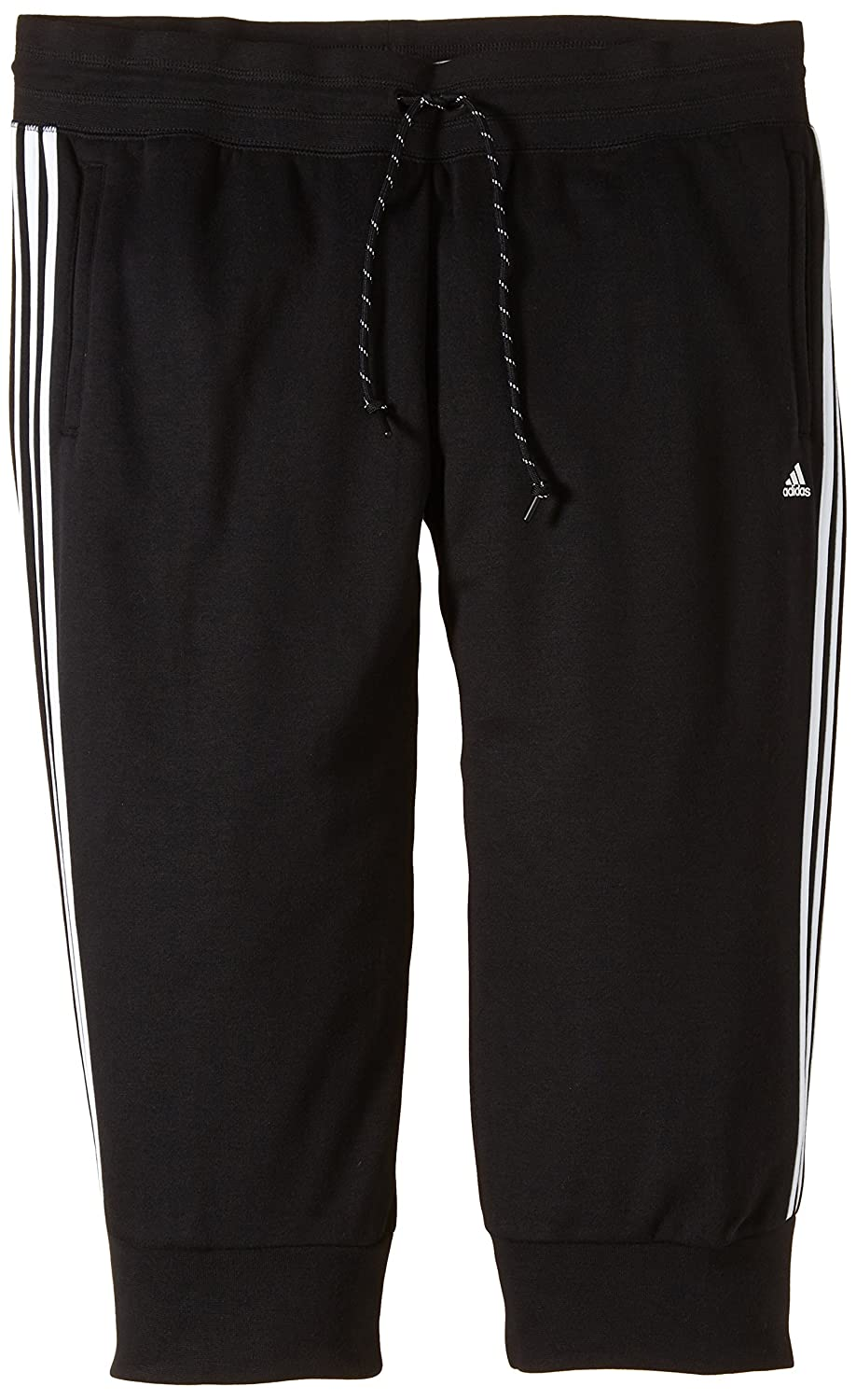 adidas Damen Sporthose Essentials 3-Stripes 3/4