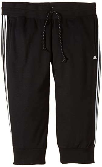 d04c775601d9e8 adidas Damen Sporthose Essentials 3-Stripes 3 4  Amazon.de  Sport ...