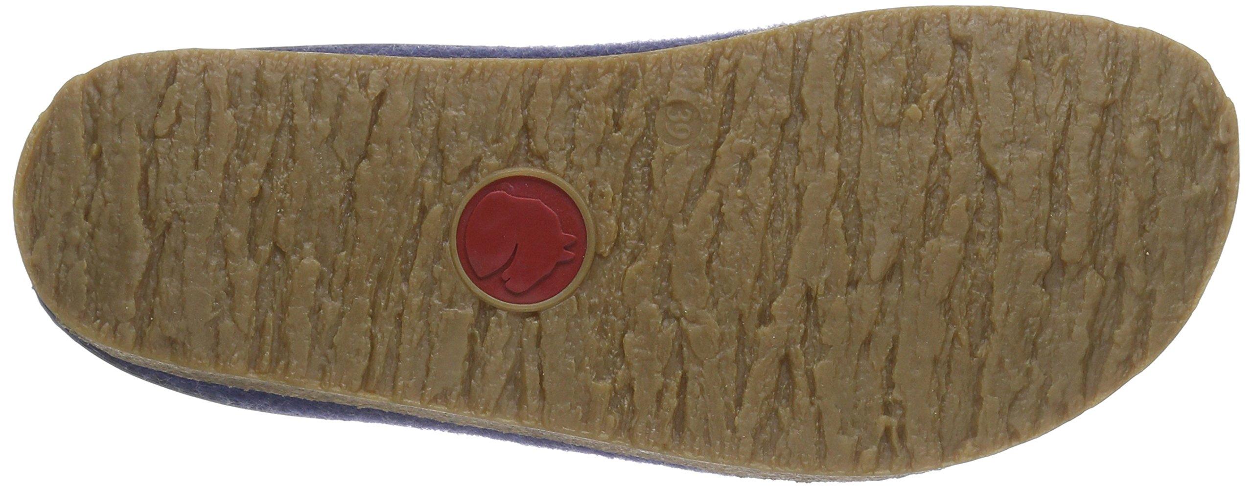 Haflinger 713001 Slippers, Filztoffel Grizzly Torben, Jeans, Gr 50 by Haflinger (Image #3)