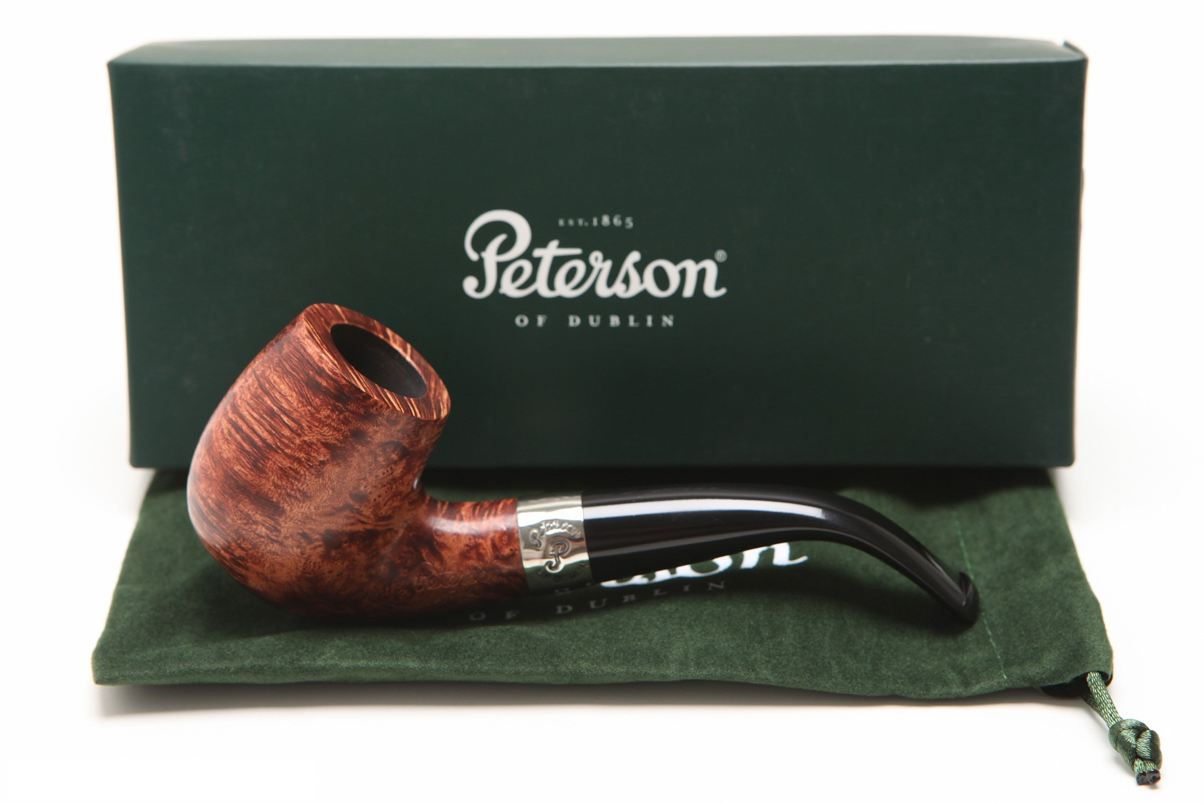 Peterson Aran 69 Tobacco Pipe Fishtail by Peterson