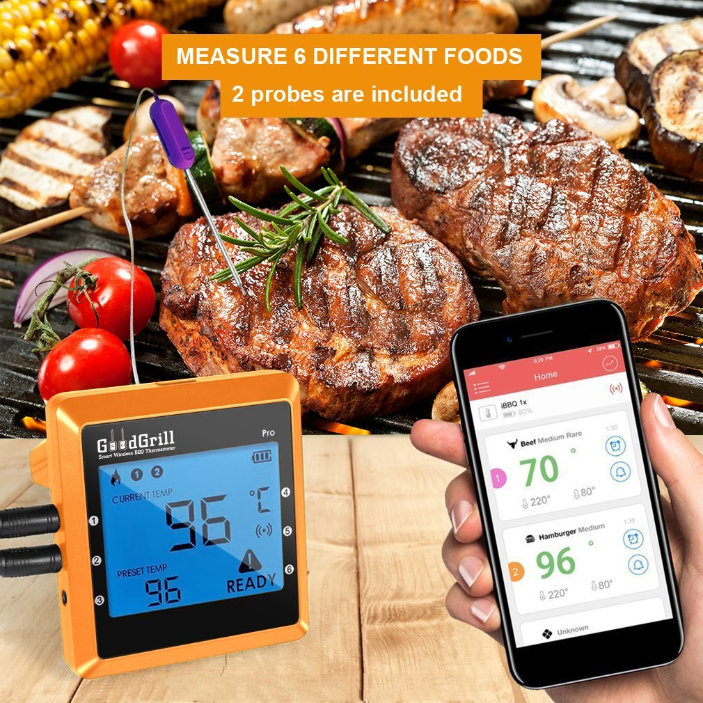 ThermoPro TP-08S, Wireless Remote Digital Cooking Meat Thermometer