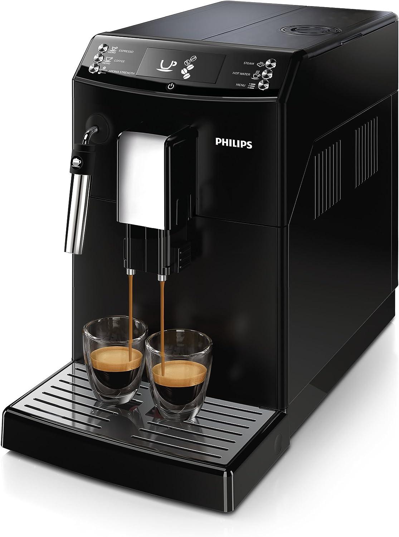 Philips 3100 series - Cafetera (Independiente, Máquina espresso, Negro, Termos, Botones, 1,8 L): Amazon.es: Hogar