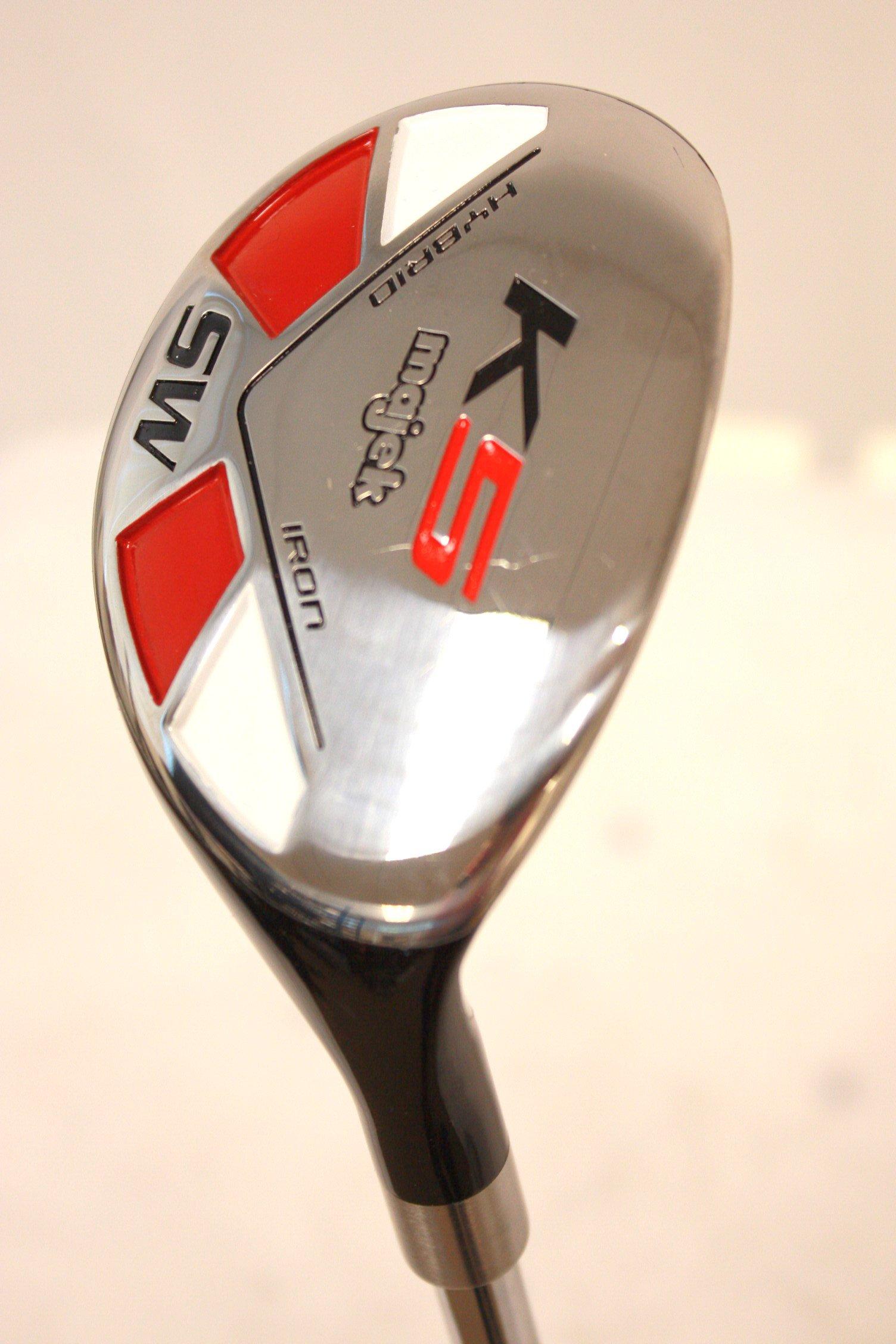 Majek Golf All Hybrid SW Senior Flex Right Handed New Utility A Flex Club by Majek