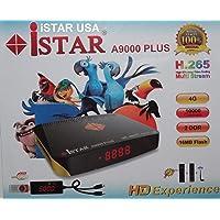 Istar Korea A9000 Plus with One Year Onlinetv الجهاز الاحدث للقنوات العربية والعالمية