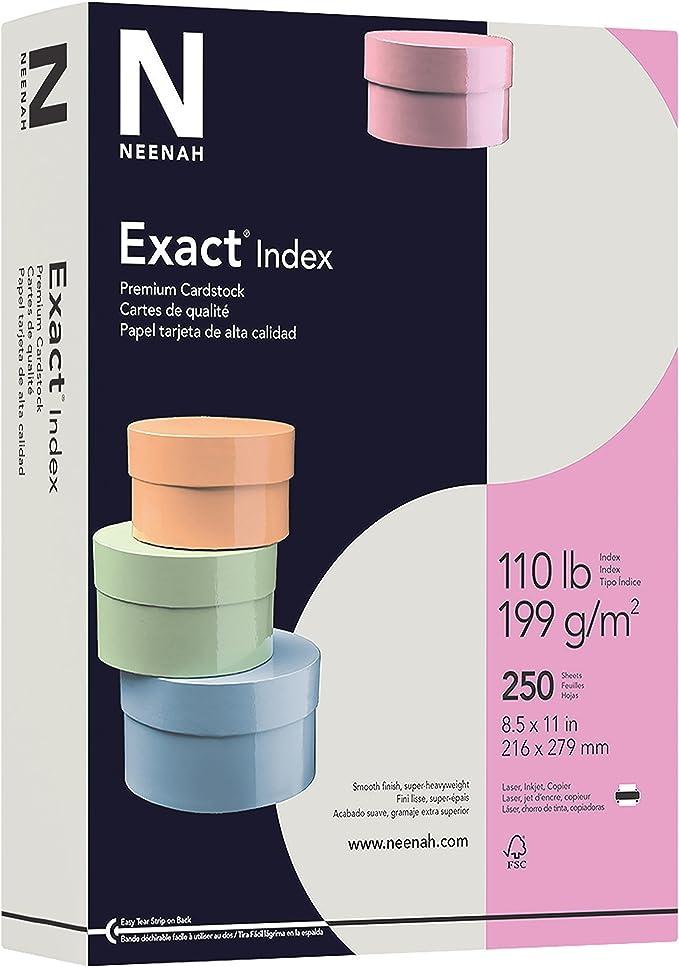 Exact Index, 8.5