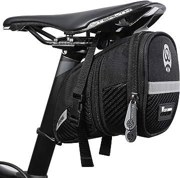 WESTGIRL - Bolsa para sillín de bicicleta, resistente al agua, con ...
