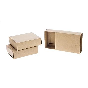 Boites Format Allumettes Vide A Decorer 9 5 X 7 X 2 5 Cm 3 Pcs