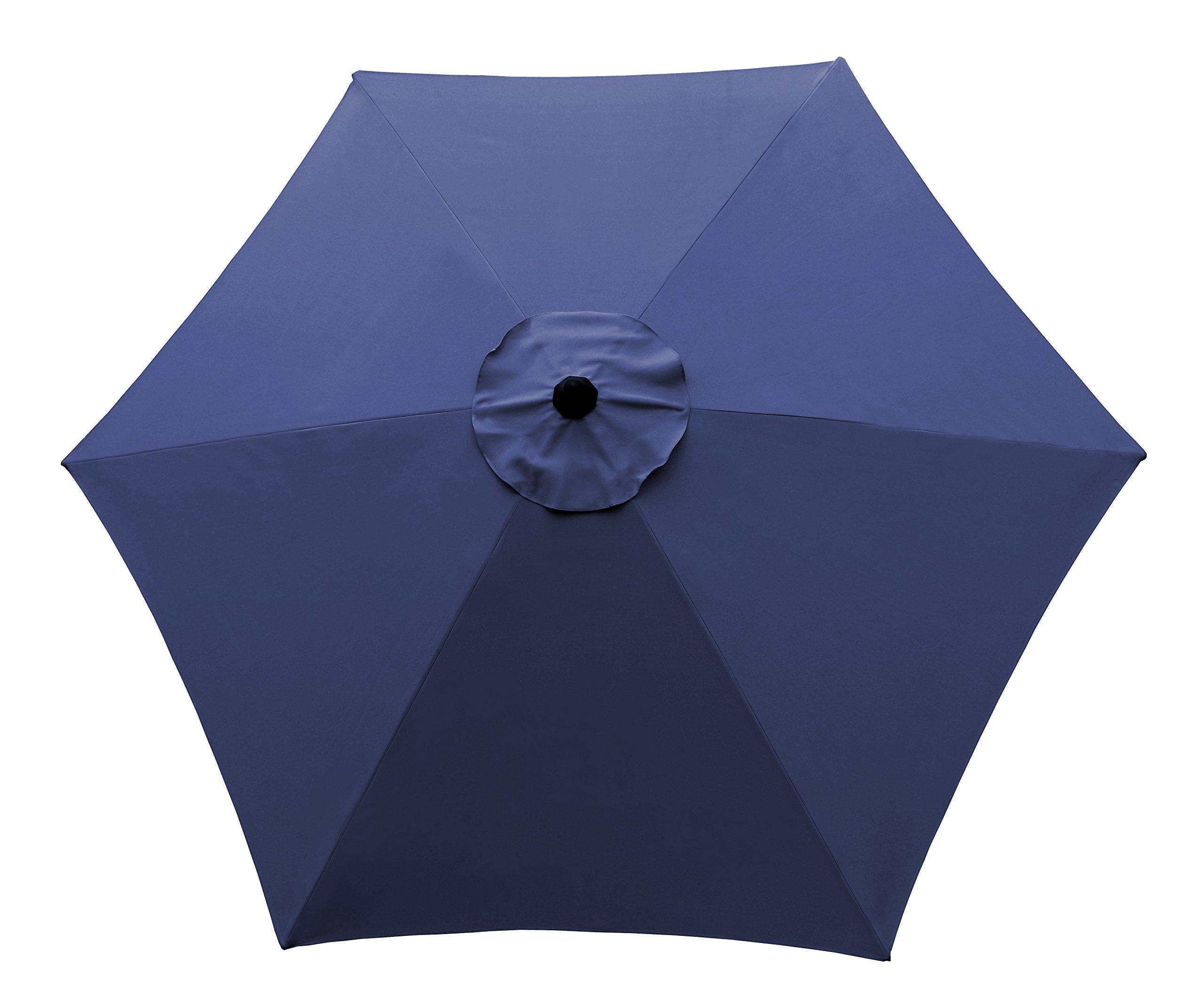 CORAL CASTLE 9' Patio Umbrella (Navy) by CORAL CASTLE (Image #3)