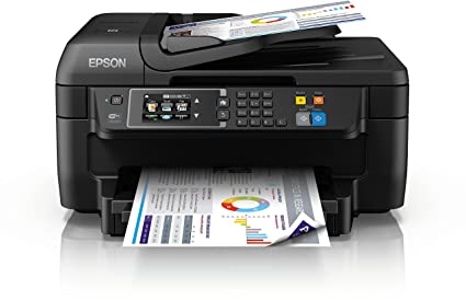 Epson Workforce WF-2760DWF - Impresora multifunción 4 en 1 (WiFi, inyección de Tinta, Pantalla táctil LCD Color), Color Negro, Ya Disponible en Amazon ...