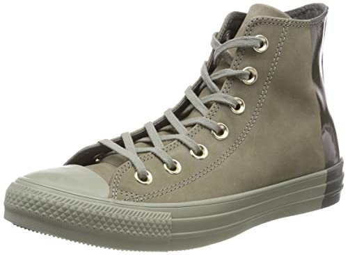 47c70625b63e05 Image Unavailable. Image not available for. Color  Converse Chuck Taylorr All  Star Color Block Nubuck Hi ...