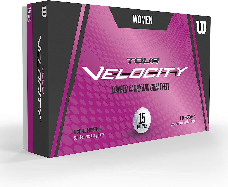 Wilson Sporting Goods Tour Velocity Women 15-Ball Pack