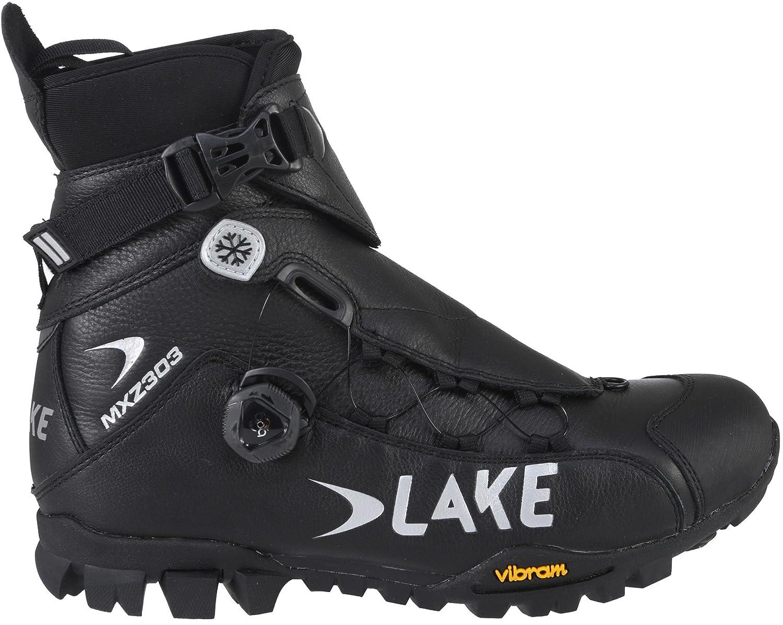 Lake MXZ303 Winter Boots Wide 46.0 Mens Black