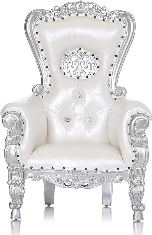 Amazon.com: Mini Tiffany fiesta trono silla con corona para ...