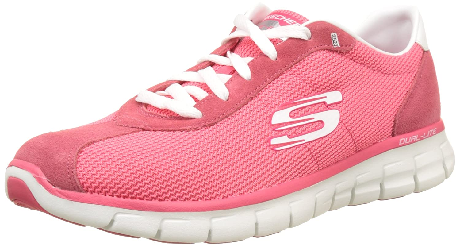 Skechers Synergy Case Closed Womens Sneakers B01IVMNYXS 11 B(M) US|Pink
