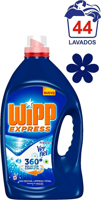 Wipp Express Detergente Líquido Frescor Vernel - 44 Lavados (2,728 ...