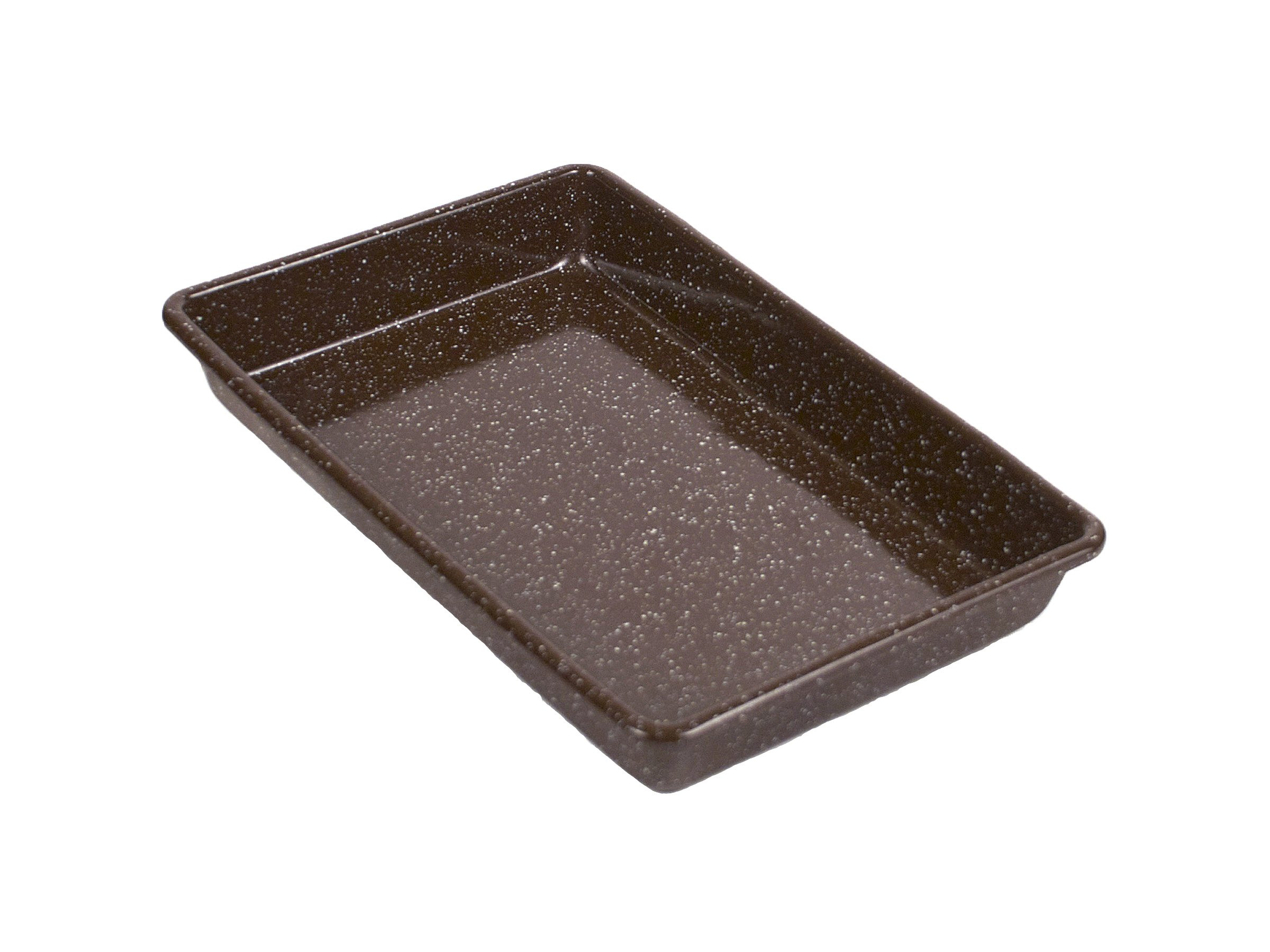 Granite Ware Better Browning Rectangle Cake Pan, 11-inch by 7-inch by Granite Ware