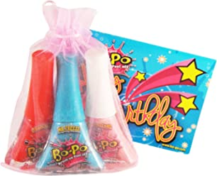 Bo-Po Polish Scented Birthday Pack with Pink Gift Bag (3 Piece)