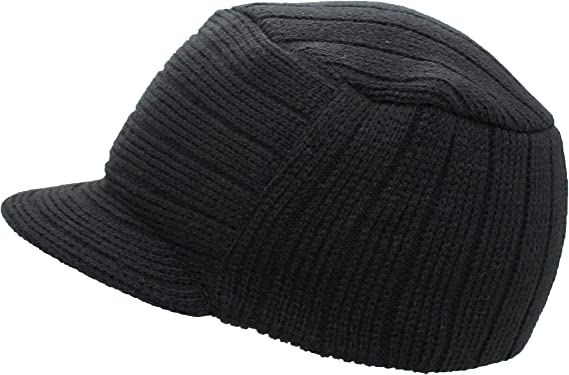 RESULT MEN/'S HAT WINTER BEANIE WOOLY SKI WARM DOUBLE THICKNESS KNITTED SOFT NEW