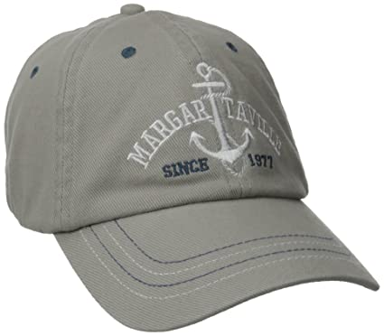 7d776c306f Margaritaville Men's Anchor Hat, Gray One Size at Amazon Men's Clothing  store: