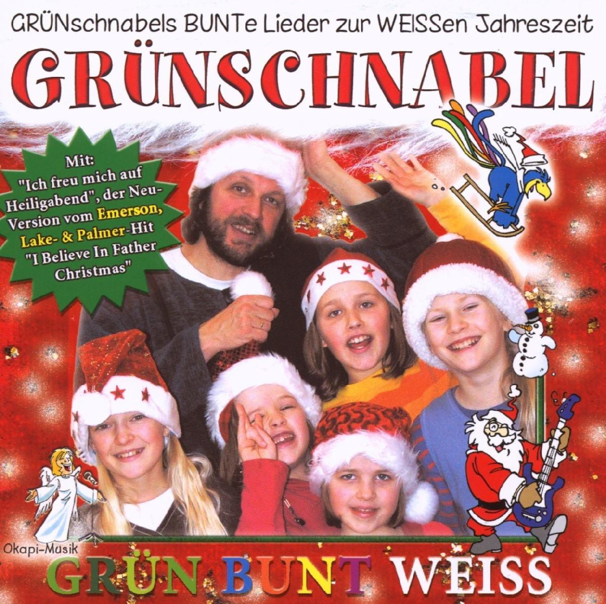 Grün-Bunt-Weiss - Grünschnabel, Burghardt Wegner: Amazon.de: Musik