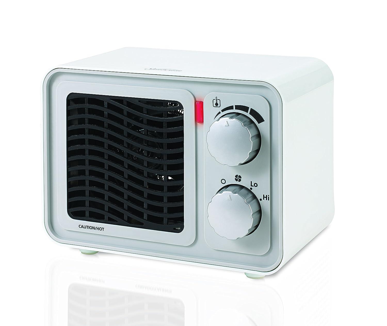 Amazon.com: Sunbeam SFH5264MW-UM Retro Radio Heater Fan, Small ...