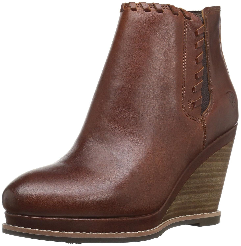 Ariat Women's Belle Western Fashion Boot B01BPW7H70 5.5 B(M) US|Cedar
