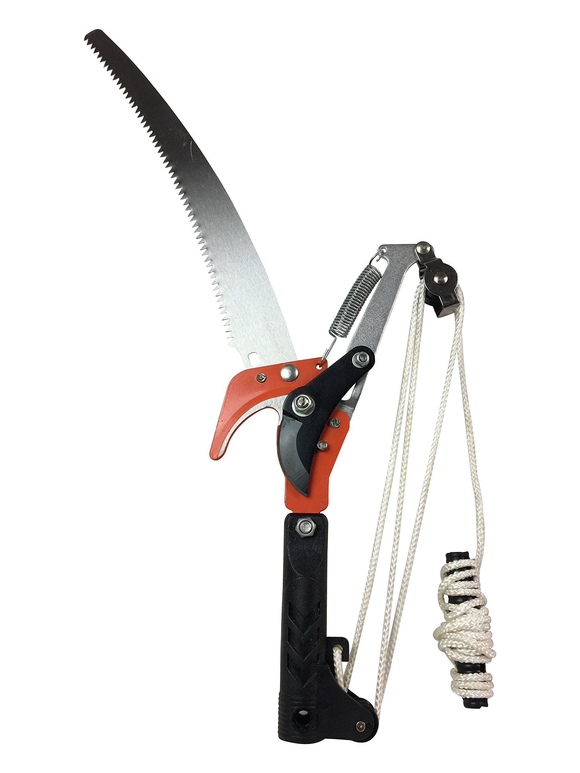 Steel Workers Pole Tree Pruner with Saw - Head Only (No Pole Included)