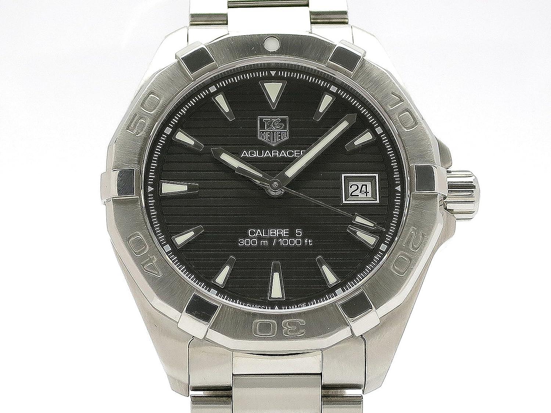 (タグホイヤー) TAG HEUER 腕時計 アクアレーサー キャリバー5 オートマチック SS WAY2113 中古 B07F3ZXTD8