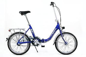 MIFA MKL800-06 - Bicicleta plegable, color azul, talla 20 Zoll
