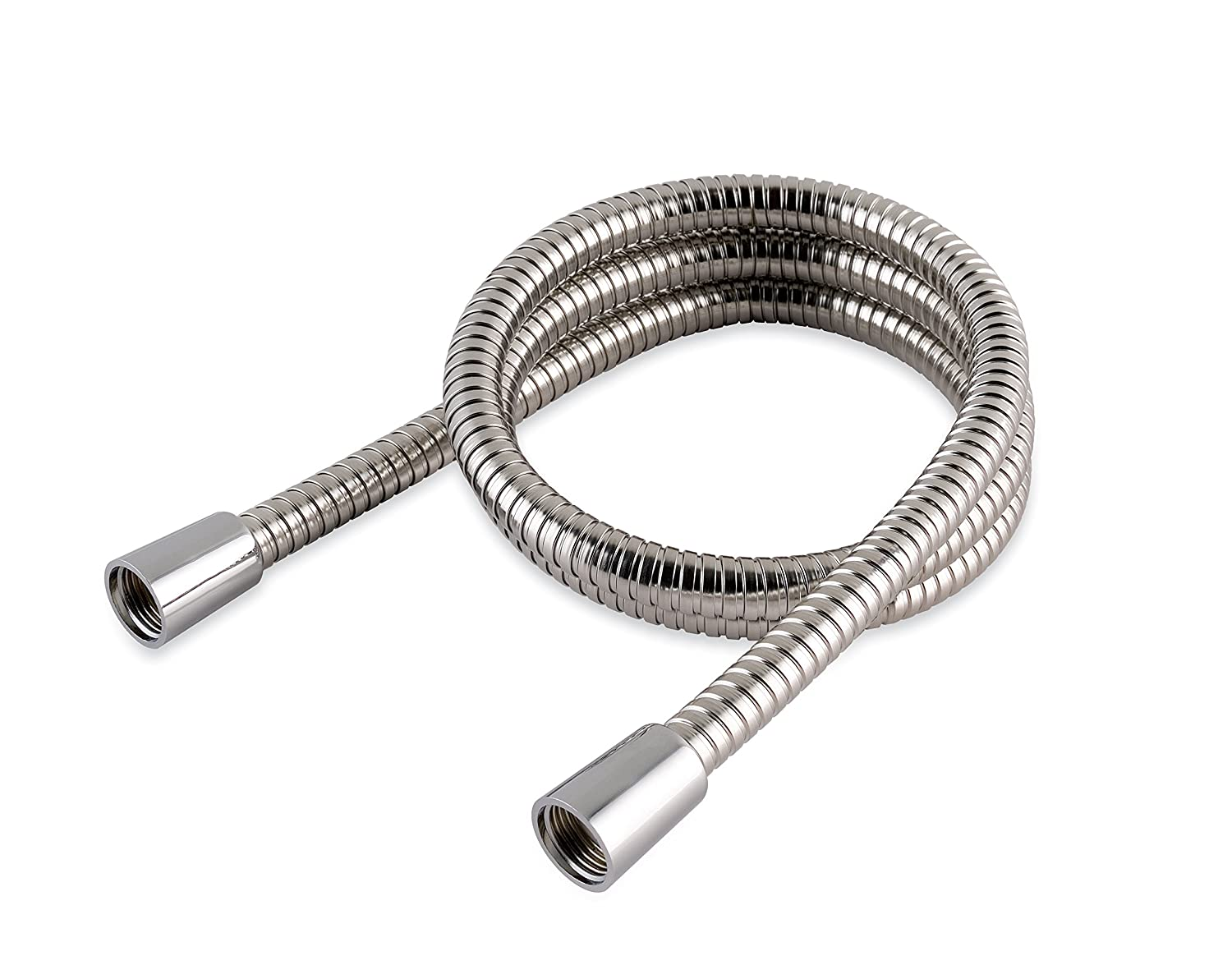 MX Group 1.0 m Stainless Steel Hi Flow Double Interlock Shower Hose HAA