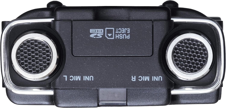 Tascam DR-100MKII Tarjeta Flash Negro, Cromo - Dictáfono (5 h, (HQ), MP3,WAV, 2500 Ω, 32-320 Kbit/s, LCD)