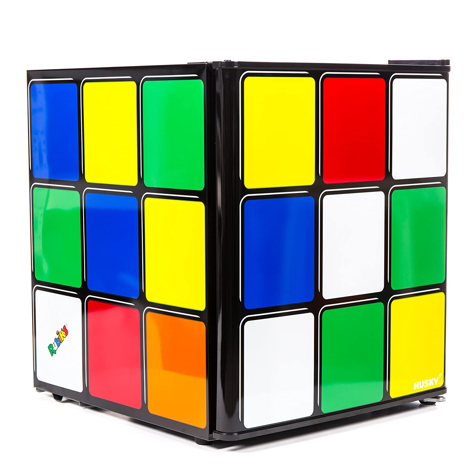 Husky HUS-HU231 Rubiks Cube Mini Fridge [Energy Class A+]