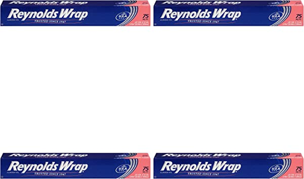 Reynolds Wrap Standard Aluminum Foil 75 Square Feet Value Pack