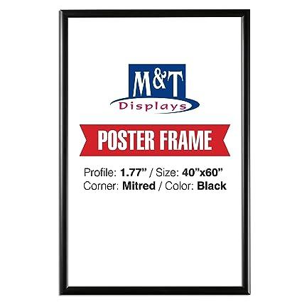Amazoncom Displaysmarket Snap Frame 40 X 60 Poster Size 177