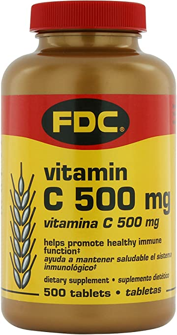 FDC Vitamin C 500 mg 500 Tablets