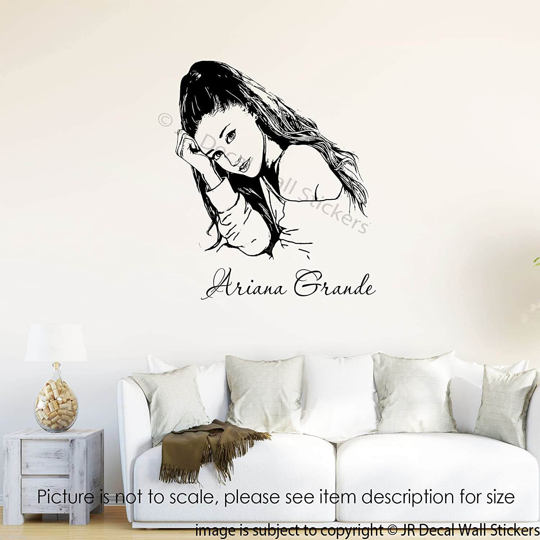 Amazon ariana grande wall art stickers ariana grande amazon ariana grande wall art stickers ariana grande removable vinyl wall decals bedroom home decor handmade amipublicfo Gallery