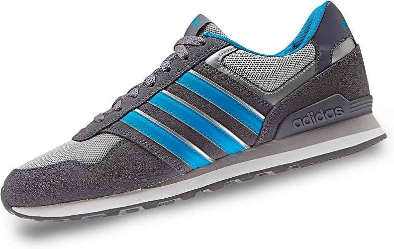adidas NEO Men´s Sneakers 10K AW3851 grey-blue ad 48: Amazon.co.uk ...