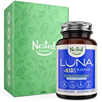 Luna Kids | #1 Sleep Aid Tablets for Children & Sensitive Adults | Naturally Sourced...