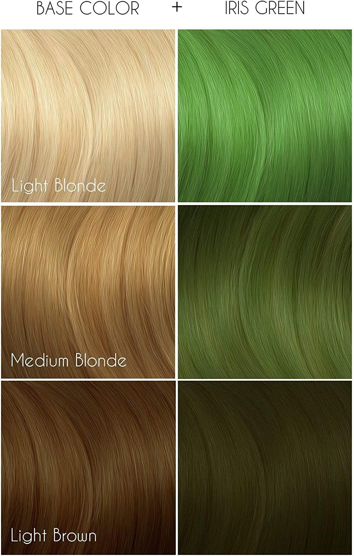 Iris Green, semi-permanentes tintes de cabello verdes - 118 ml - Arctic Fox