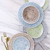 Viva Lace Cocktail Plates - Set of 4 - Natural