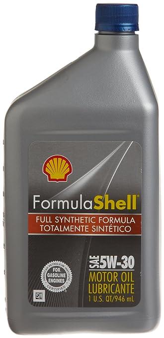 FormulaShell 550024064 Full Synthetic 5W-30 Motor Oil - 1 Quart, (Pack of