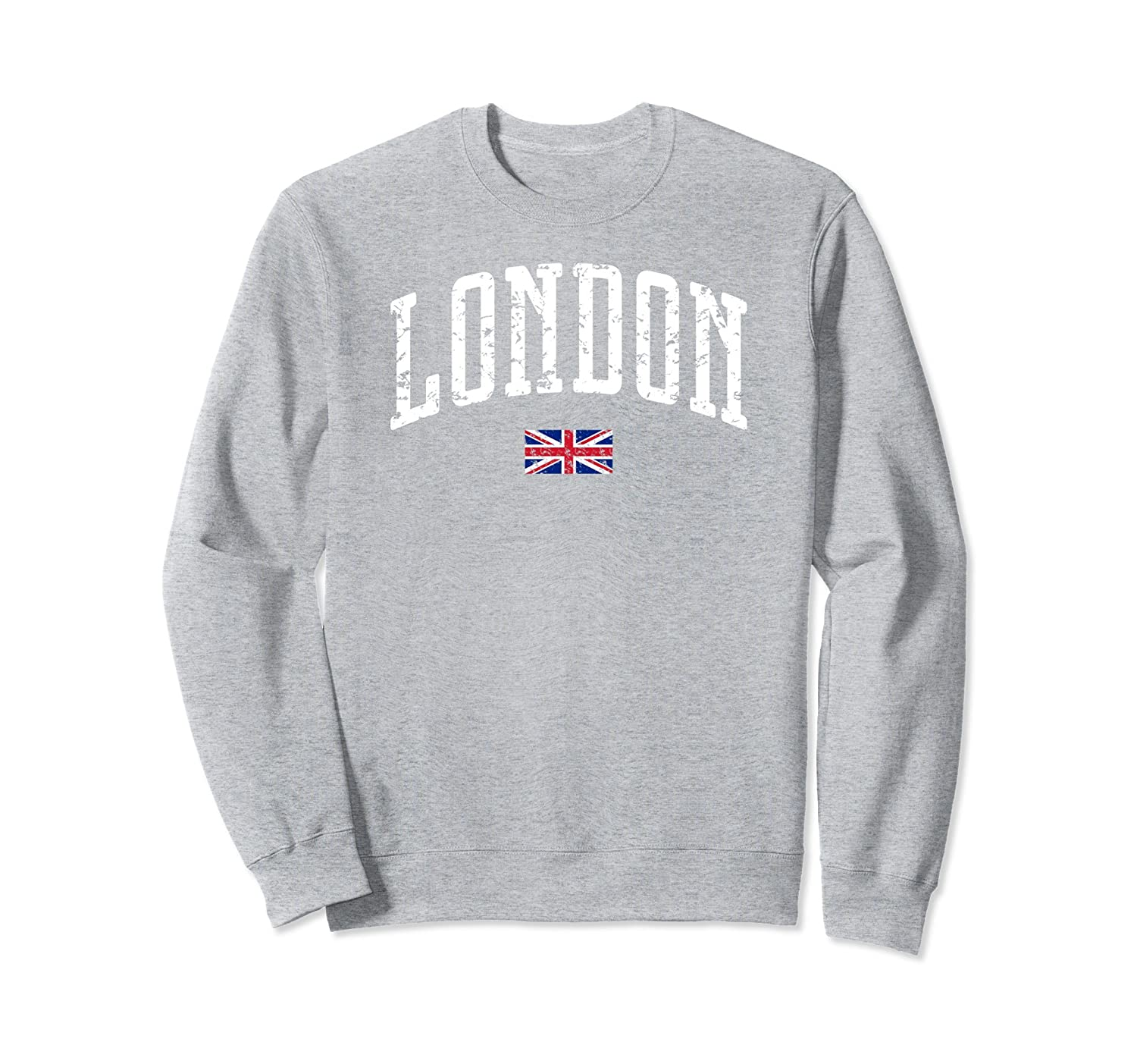London Flag Vintage City Sweatshirt-Awarplus