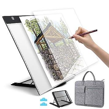 Amazon.com: Almohadilla de luz LED A3.: Arte, Manualidades y ...