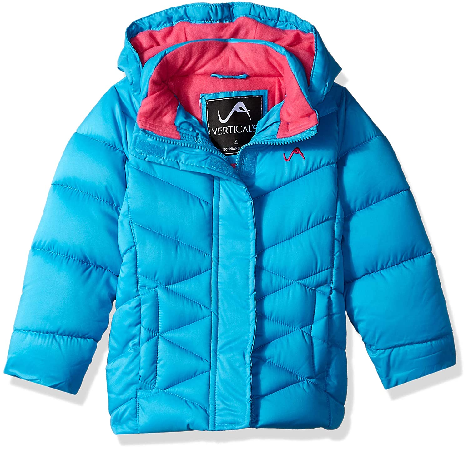 Vertical 9 Girls Quilted Fashion Bubble Jacket