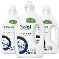 Neutral Wasmiddel Kleur, Parfumvrij - 60 wasbeurten - 3 x 1L