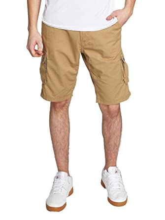 53a263772d Solid Men Shorts Gael Cargo Brown L: Amazon.co.uk: Clothing