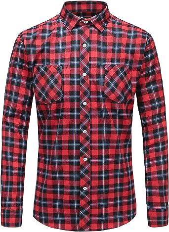 Camisa de piña para hombre de JEETOO, estilo hawaiano, estampada, de manga corta, ajustada, para el tiempo libre, informal, para verano, en las tallas S-3XL rojo XXXL: Amazon.es: Ropa y accesorios