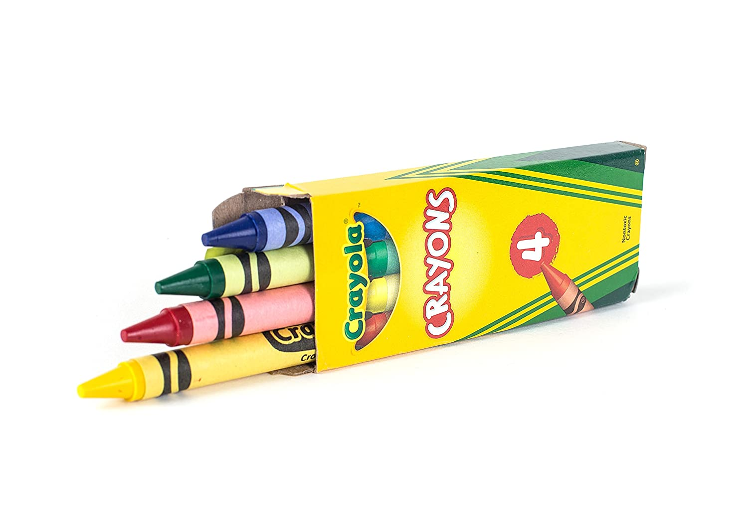 amazon com 12 boxes crayola 4 ct crayon party favor pack colors